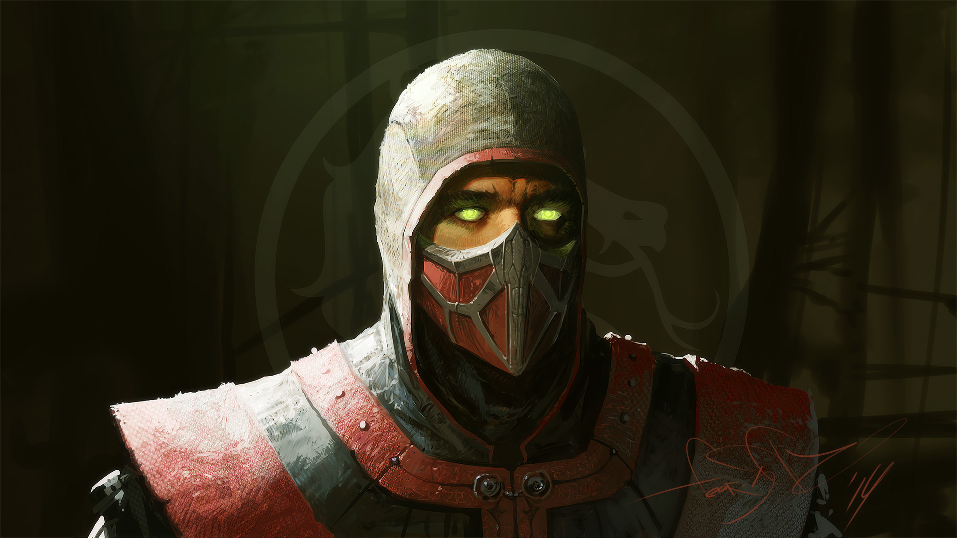 As Ermac MK Mortal Kombat By fear sas Wallpaper 19201080 1920x1080
