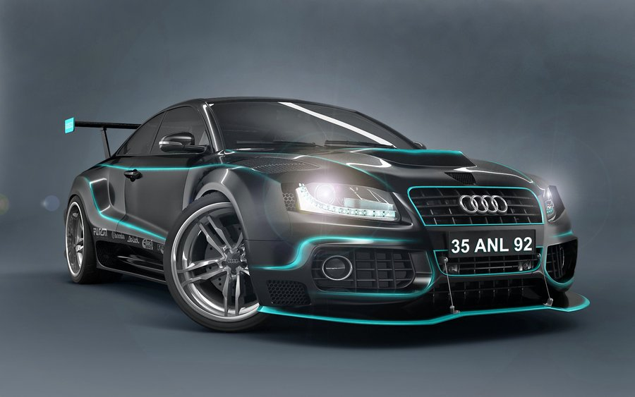 Audi Car Design 3D Wallpaper 3D Audi Car Wallpapers 3 Dimensional 900x563