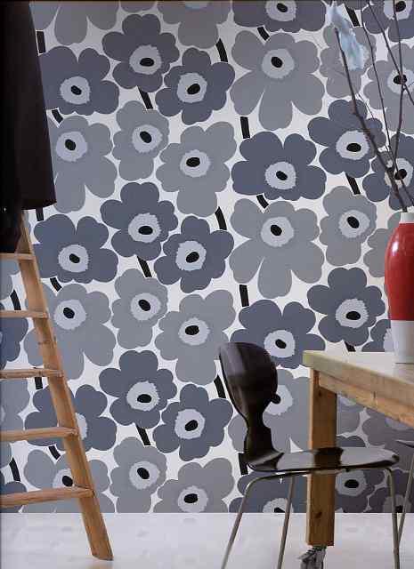 Marimekko Wallpaper 13070 UNIKKO By Galerie 465x640