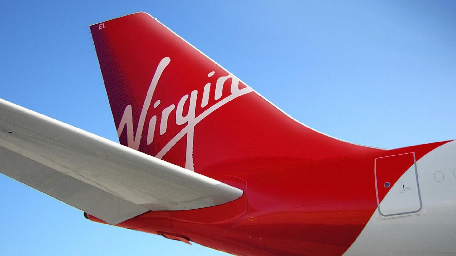 Rear End Of The Virgin Aircraft Wallpaper PaperPull 1920x1080