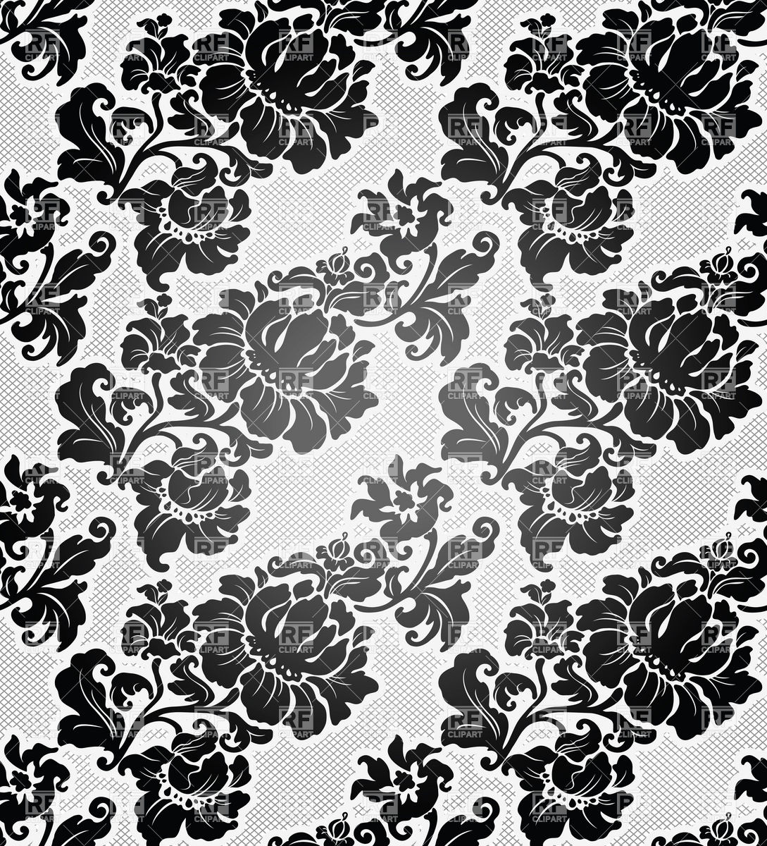 Free Download Black And White Floral Wallpaper Download The