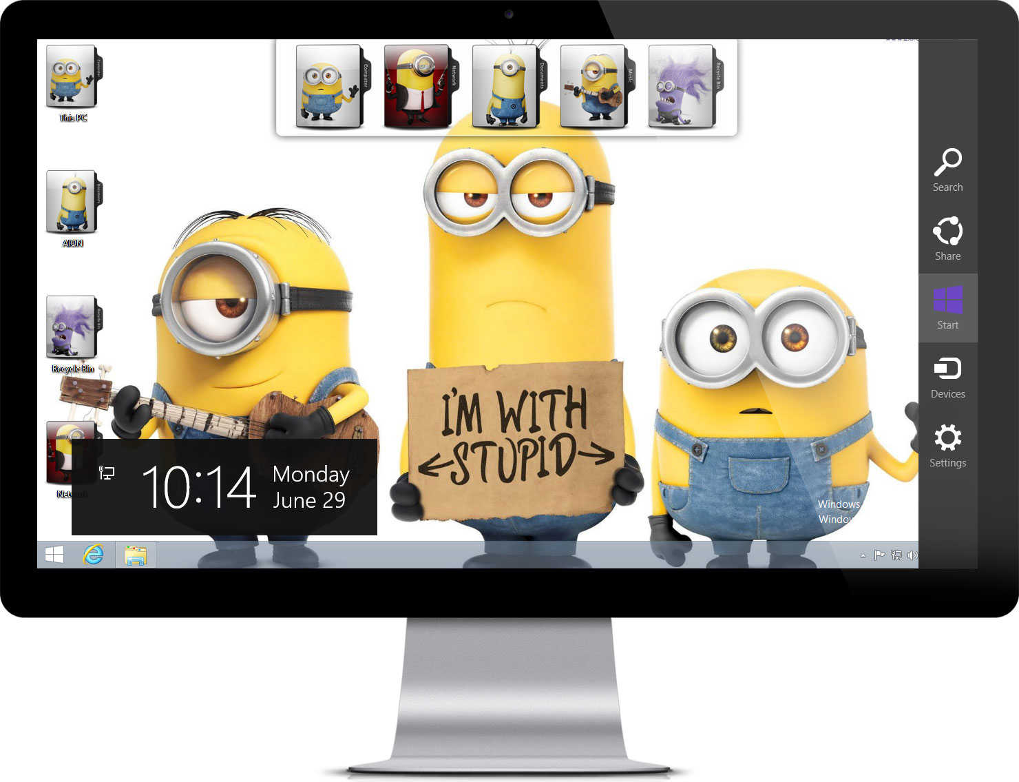 Minion wallpapers Logon screen wallpaper automatically change during 1480x1135