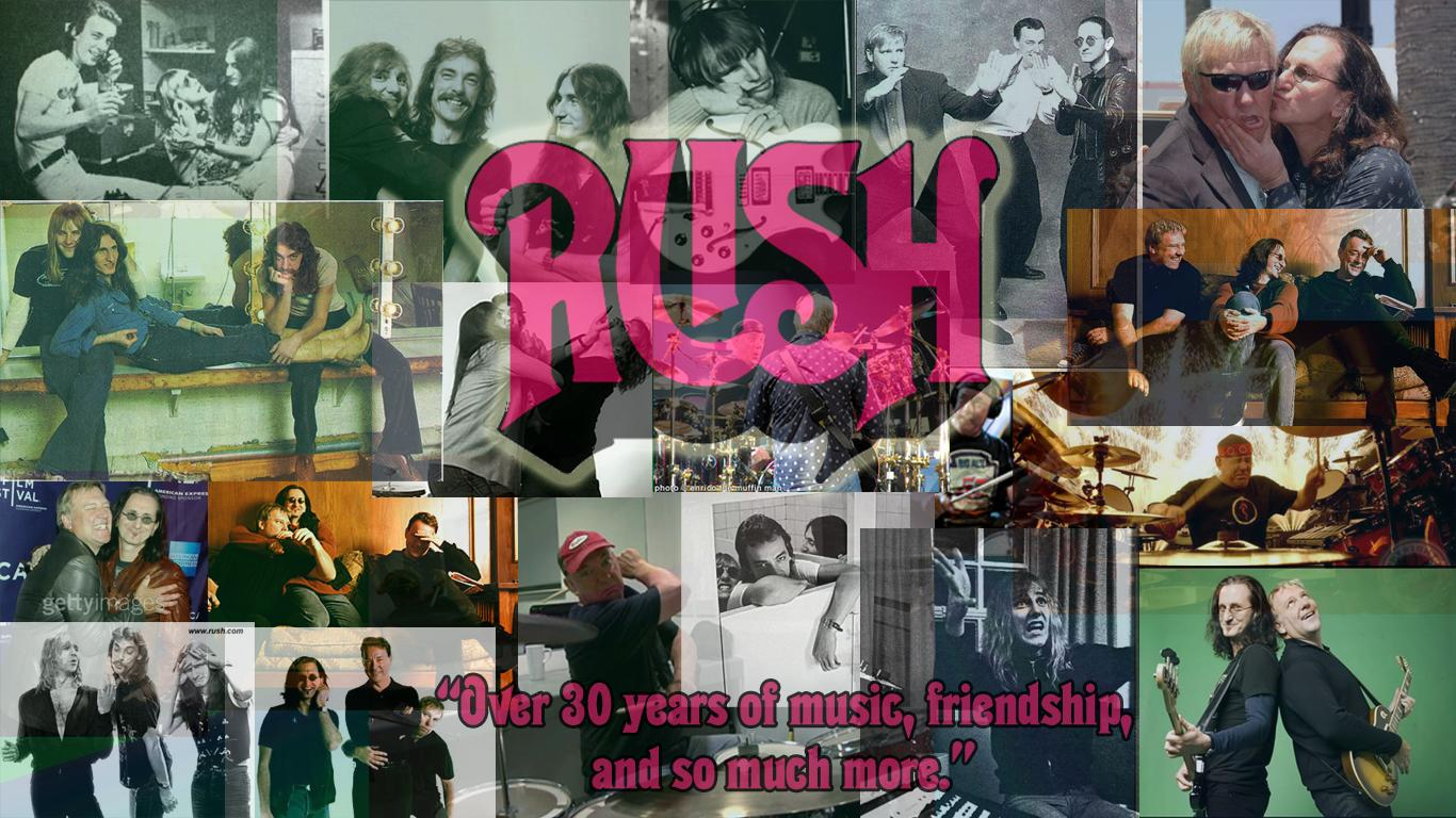 Download Rush Band Backgrounds 1366x768