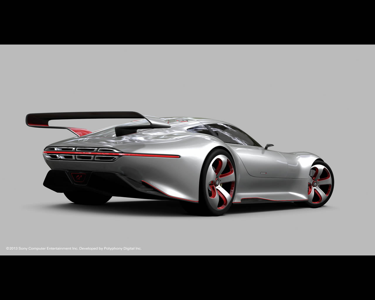 Mercedes Benz AMG Vision Gran Turismo   Developed for the 1280x1024