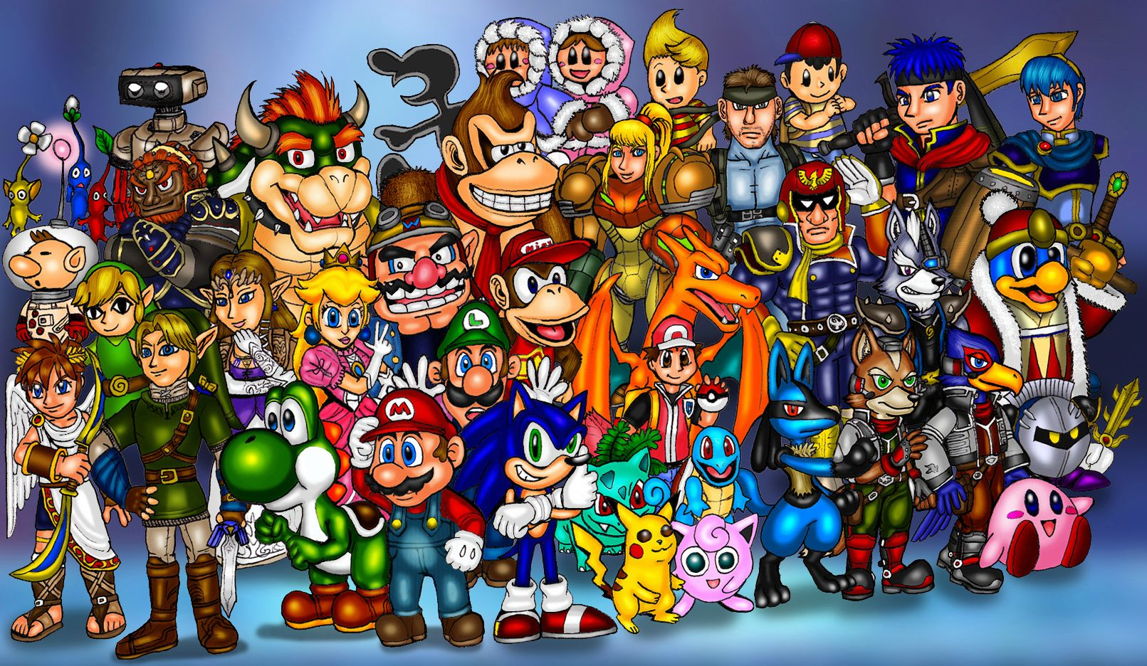 Image result for video game characters