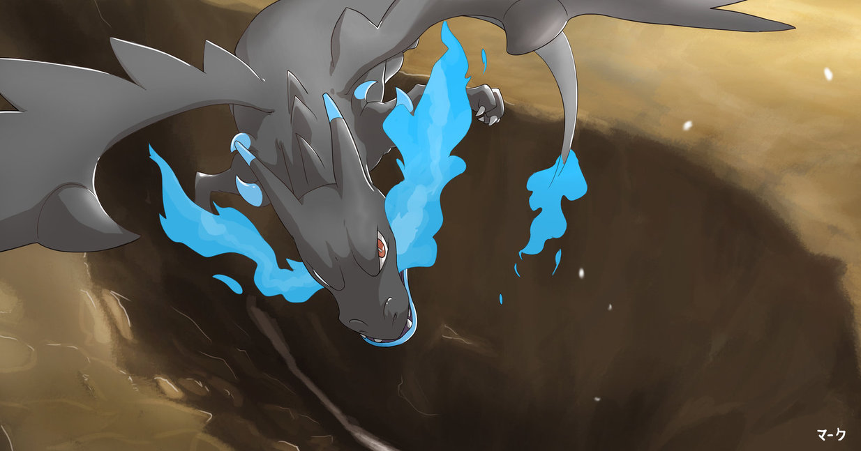 Pokemon Mega Charizard X by mark331 1234x647
