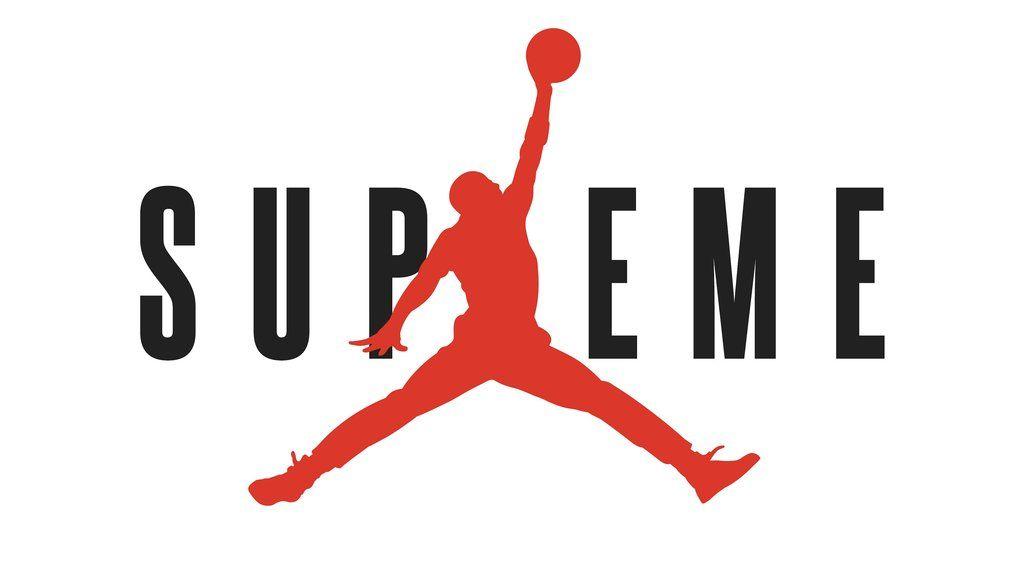 Supreme Jordan Logo Sticker 4 in 2019 Stickers Decals Labels 1024x576