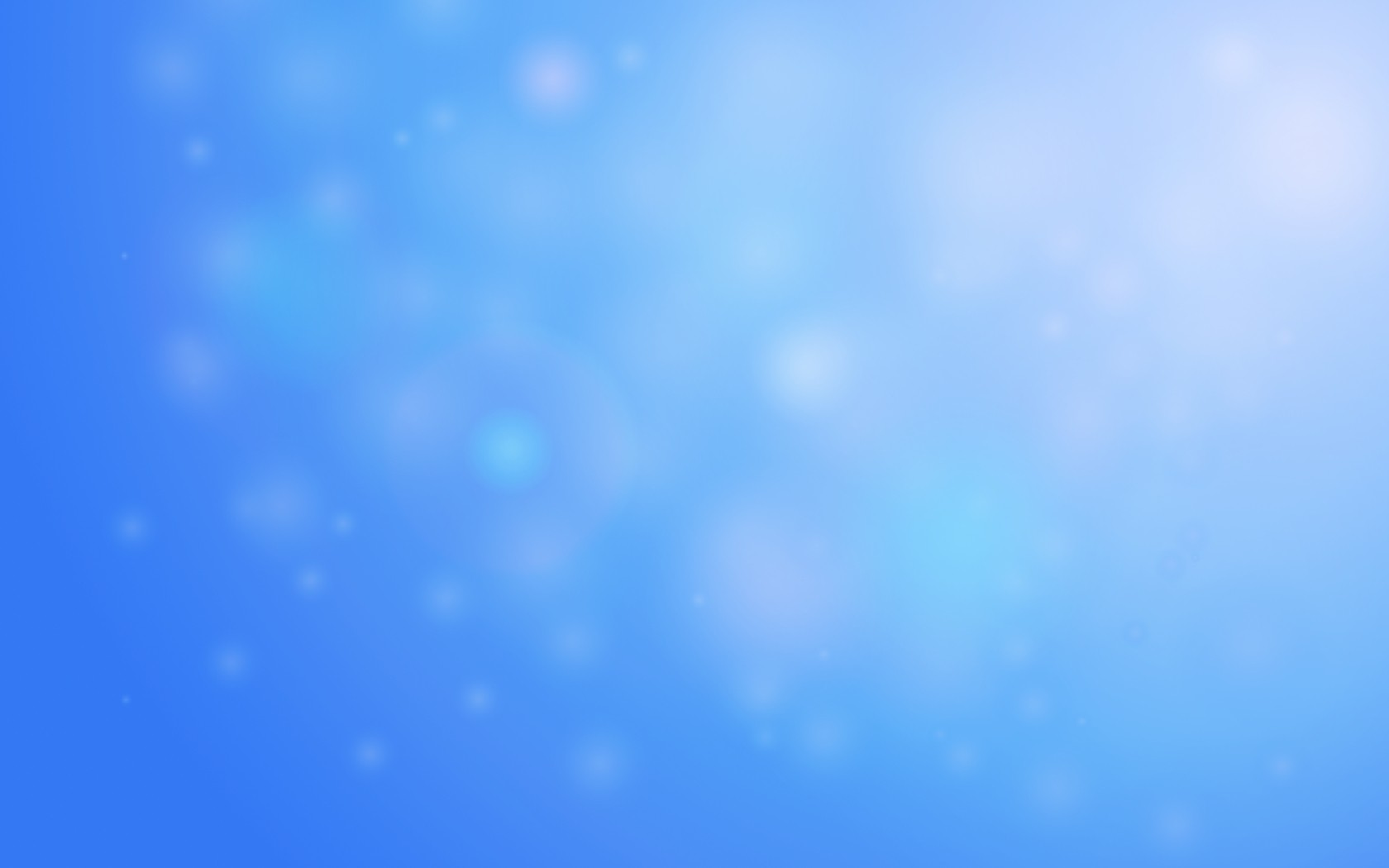 1680x1050 Light Blue Bokeh desktop PC and Mac wallpaper 1680x1050
