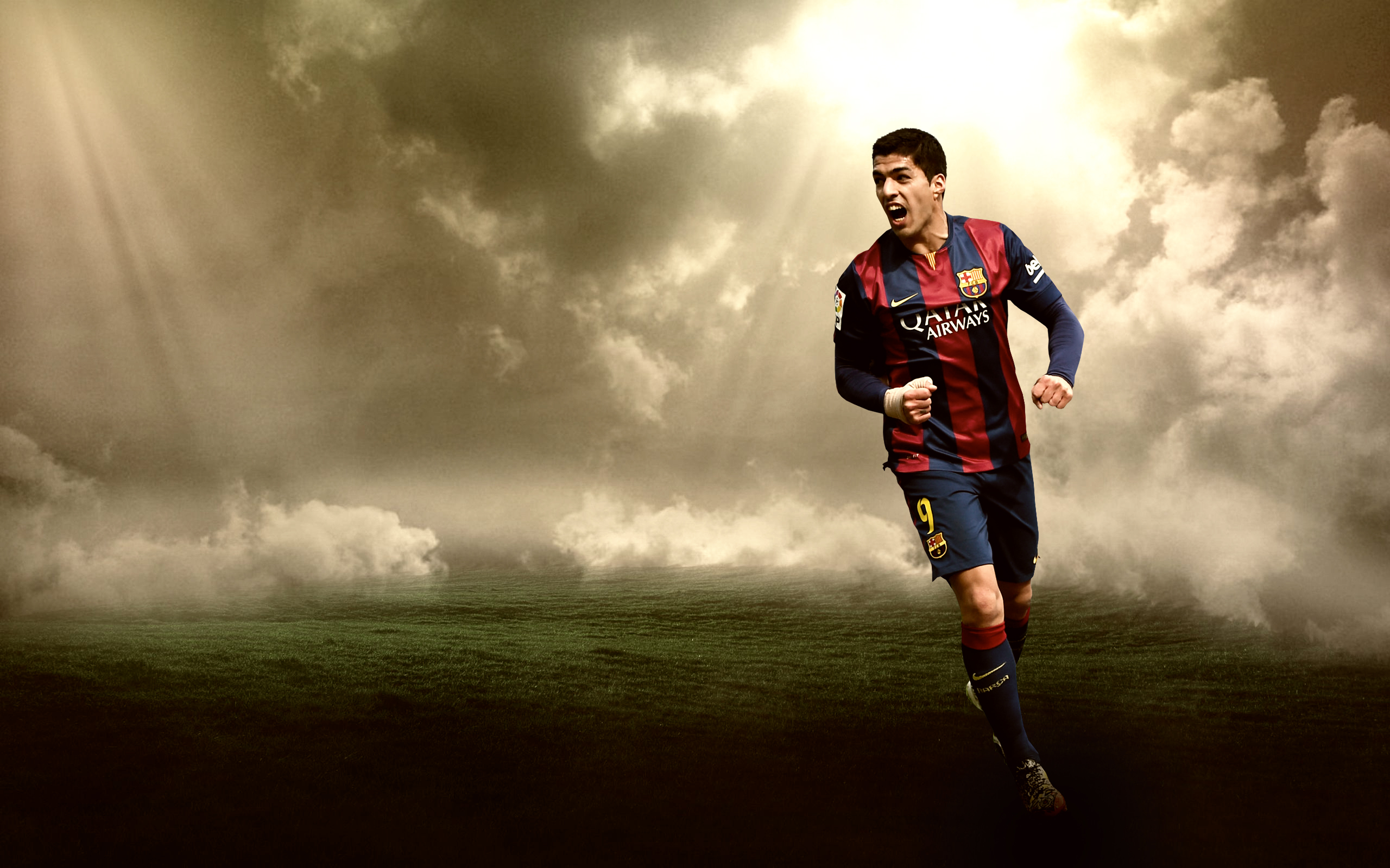 luis suarez wallpaper by rakagfx watch customization wallpaper people 2560x1600