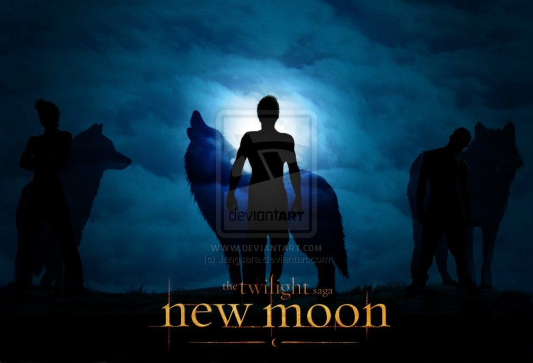 Free Download Twilight Wolves New Moon Wallpaper 1083x738