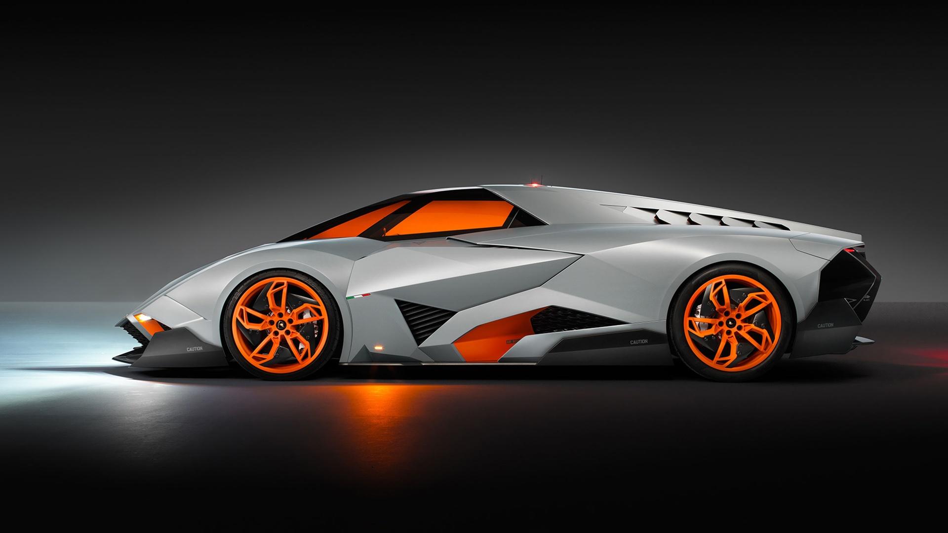 Lamborghini Egoista Concept 3 Wallpaper HD Car Wallpapers 1920x1080