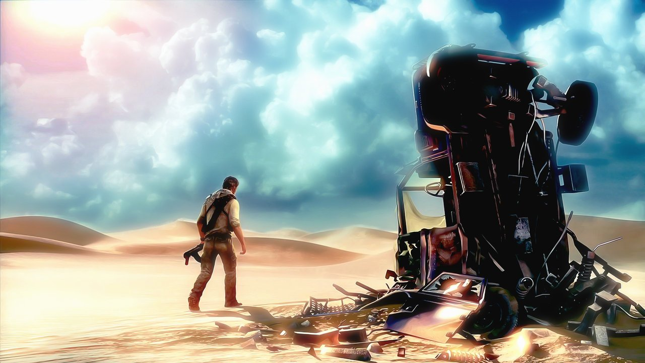 HD]Uncharted 3 Drakes Deception Wallpapers Risen Sources 1280x720