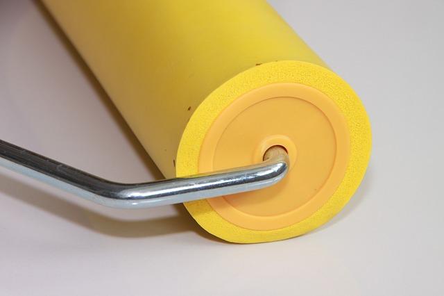 eva roller rubber seam wallpaper yellow tools 640x426