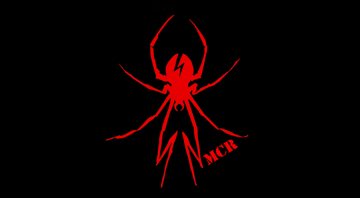 My Chemical Romance Spider Logo Wallpaper 2 my chemical 1205x663