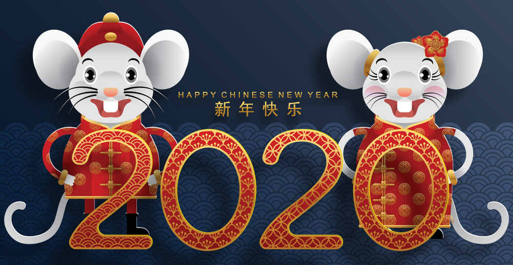 Happy Chinese New Year wallpapers 2020   SPC 1000x516