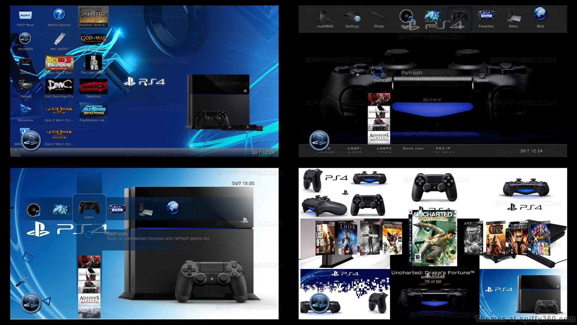 [50+] Cool Dynamic Wallpapers for PS3 on WallpaperSafari