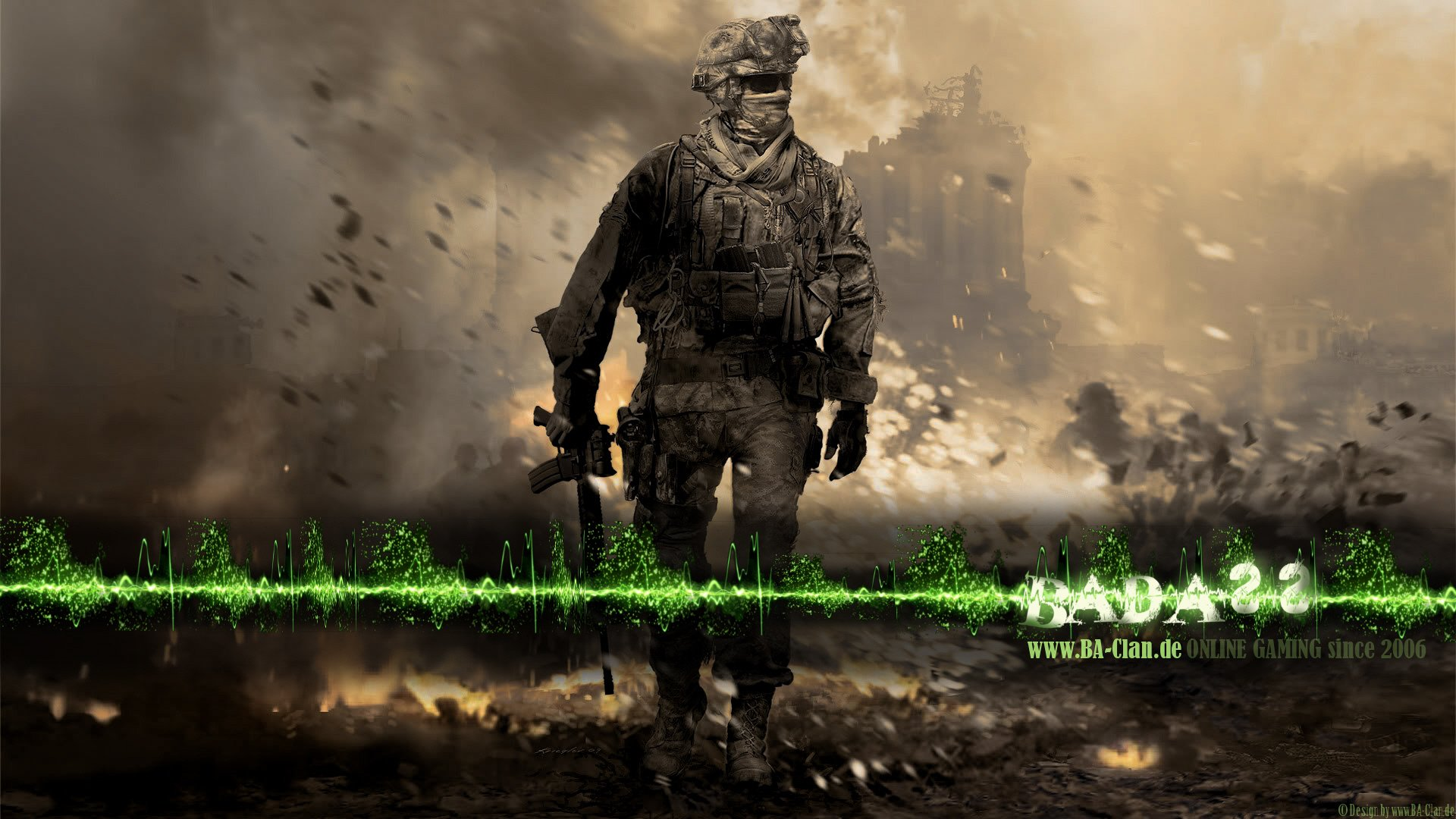 call of duty modern warfare wallpapers 4k