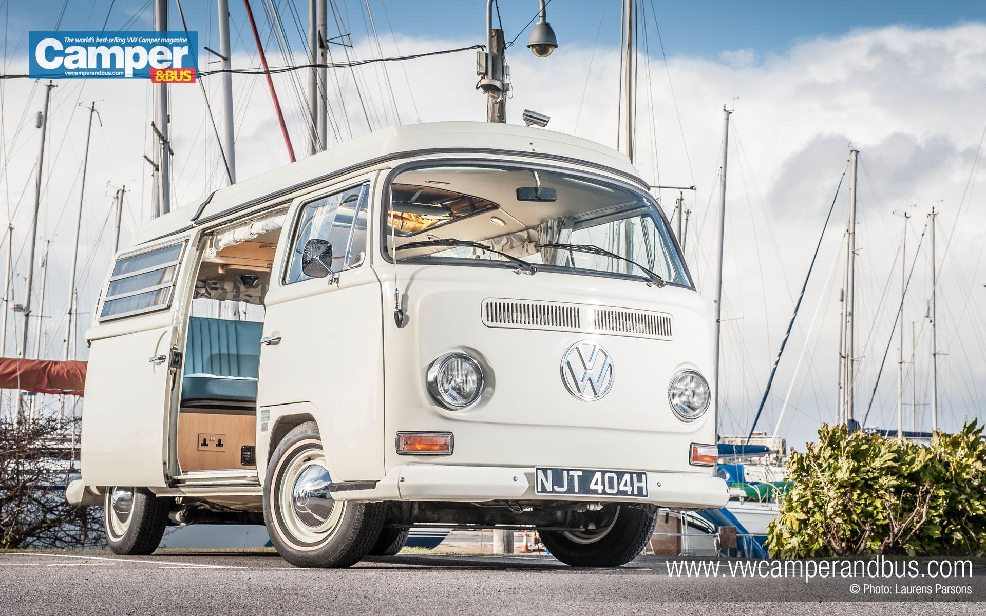 Bay Window Westfalia Campervan desktop wallpaper   VW Camper and Bus 1920x1200