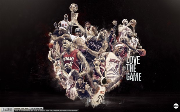 Lebron James Wallpapers Love the Game 620x388