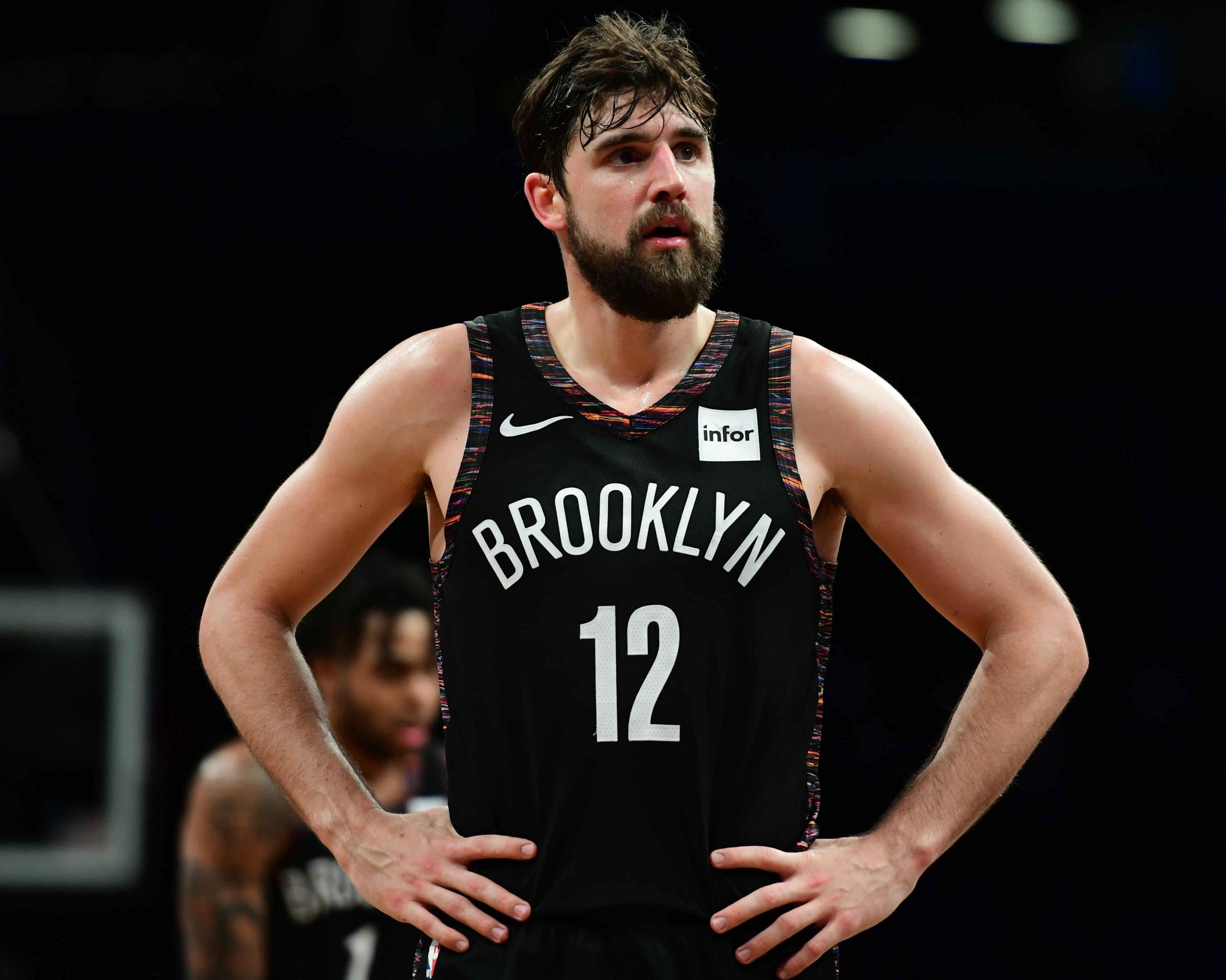 3 Point Contest Joe Harris Brooklyn Nets 3364x2691