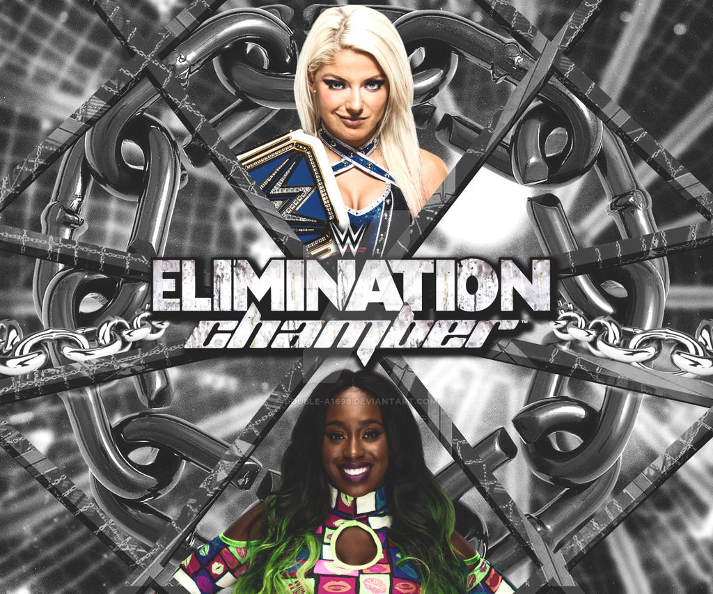 WWE Elimination Chamber 2017 by Double A1698 1024x853