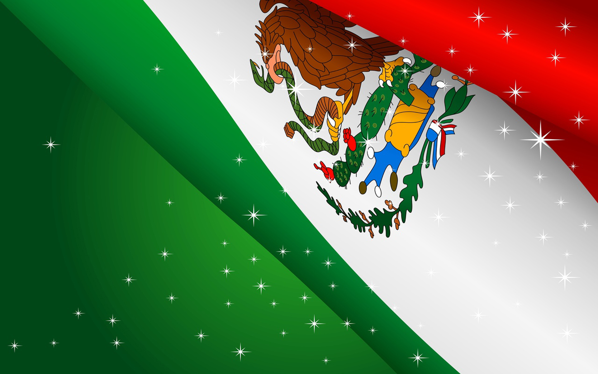 Mexican Independence Day computer desktop wallpaper 1920x1200