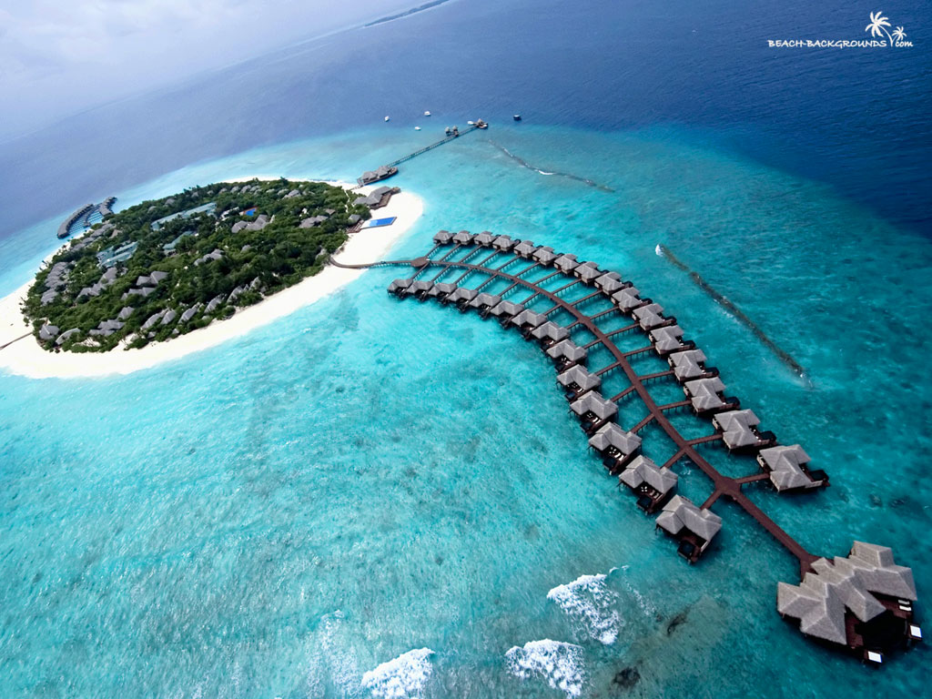 Maldives Islands of the Maldives   The Maldives Honeymoon 1024x768