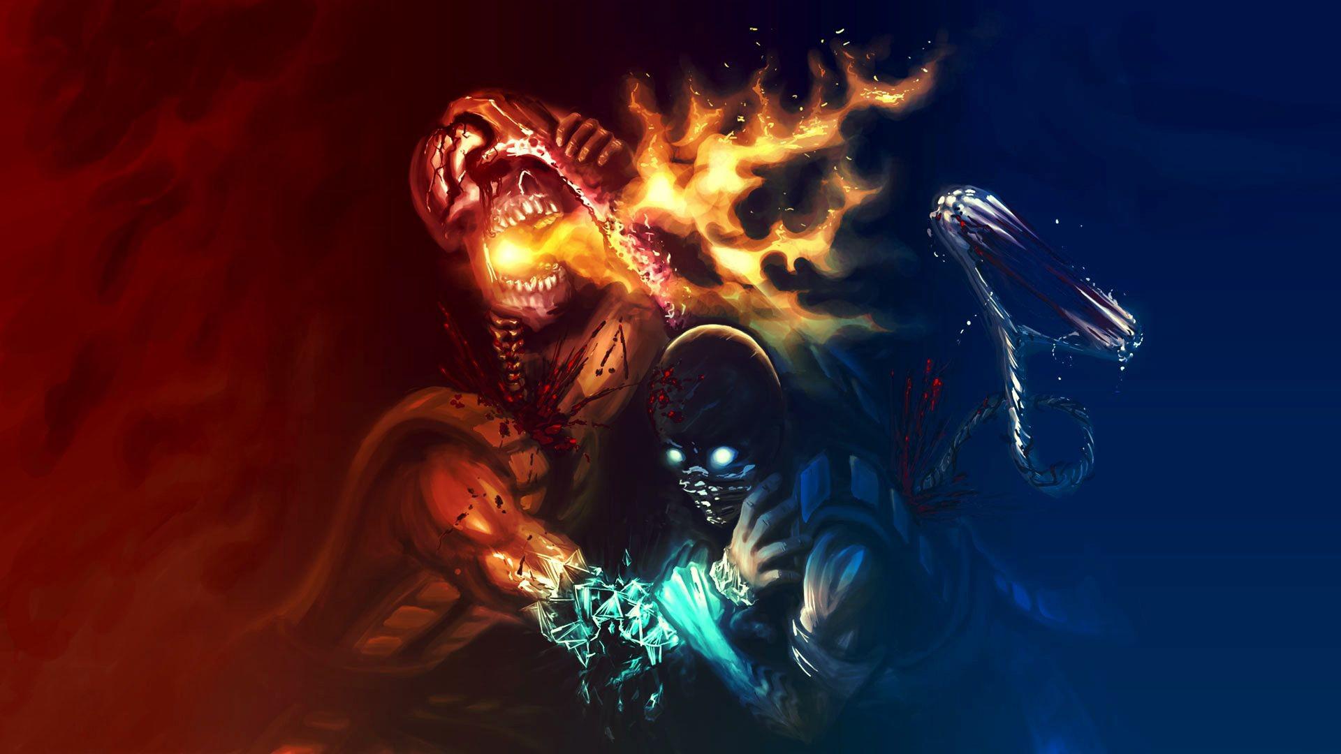54 Scorpion Mortal Kombat Hd Wallpapers: Awesome Mortal Kombat Wallpapers