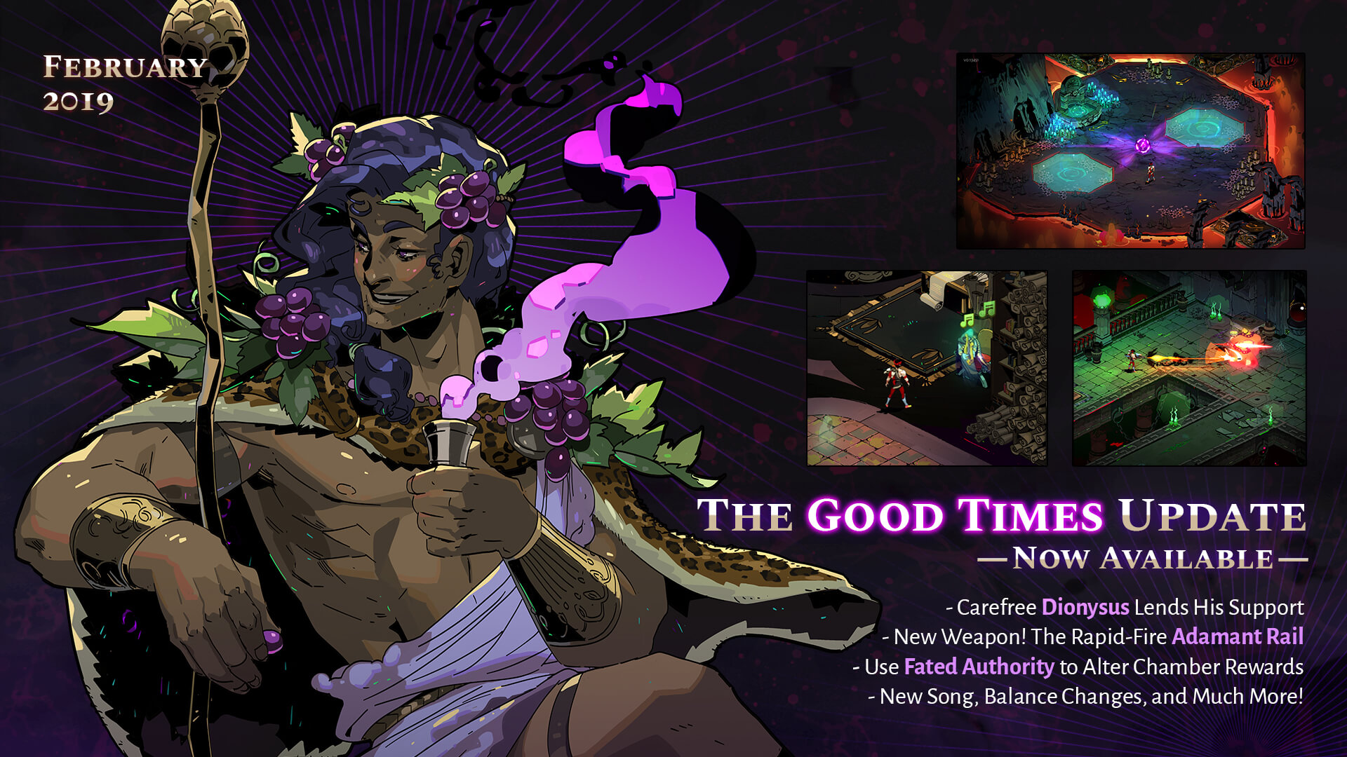 Everything New In Hades The Good Times Update   News   Gamepedia 1920x1080