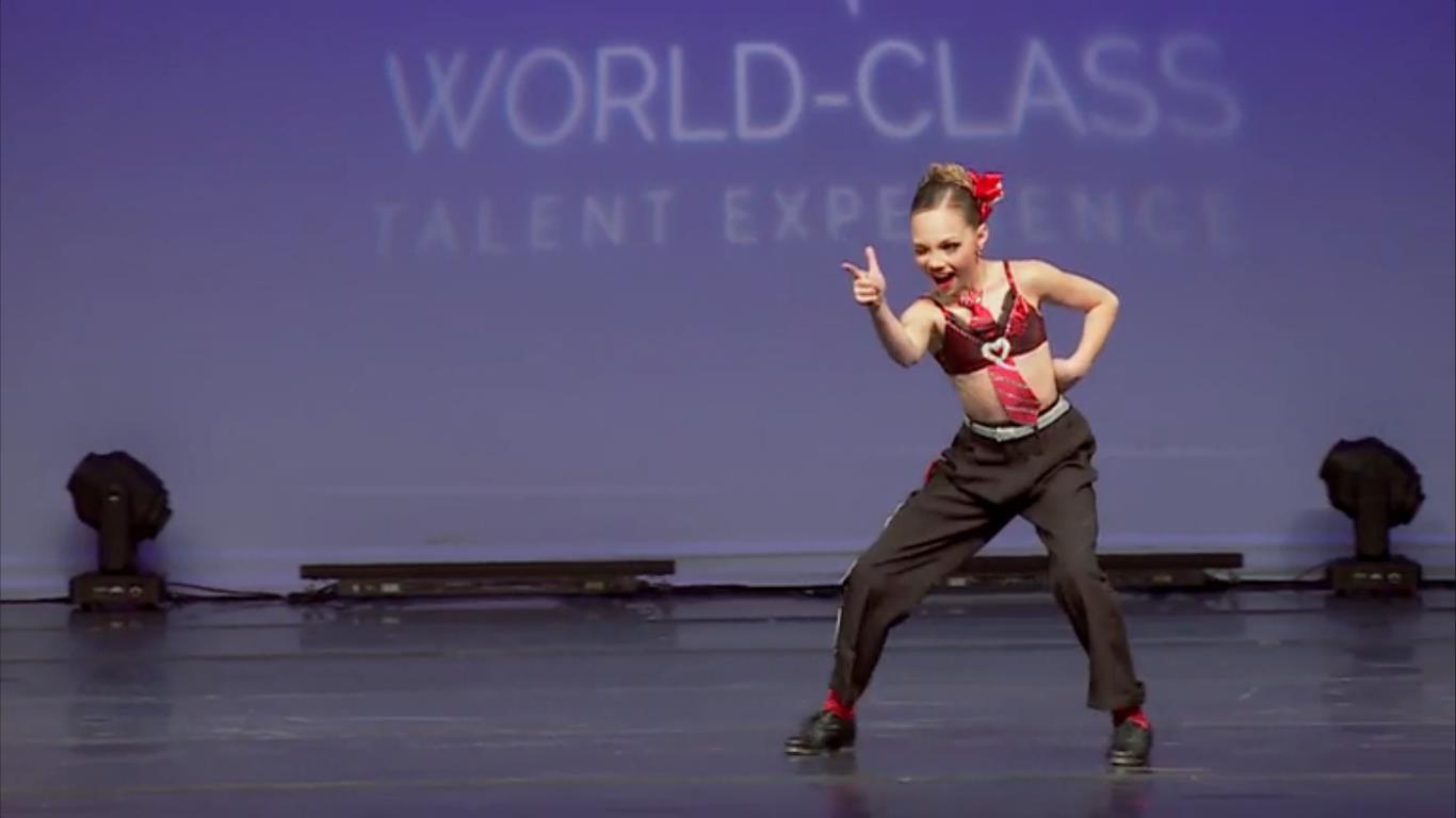 Maddie Zielger solo dance   Dance Moms Wallpaper 1366x768 104717 1366x768