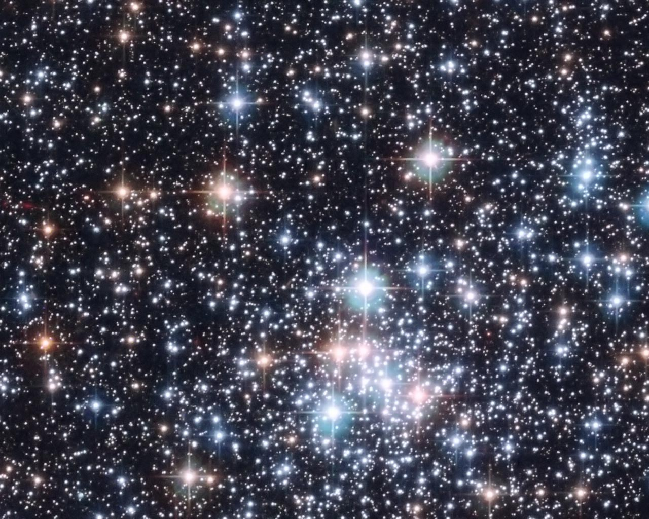 Night Sky Stars hd Wallpaper Starry Night Sky Space Stars 1280x1024