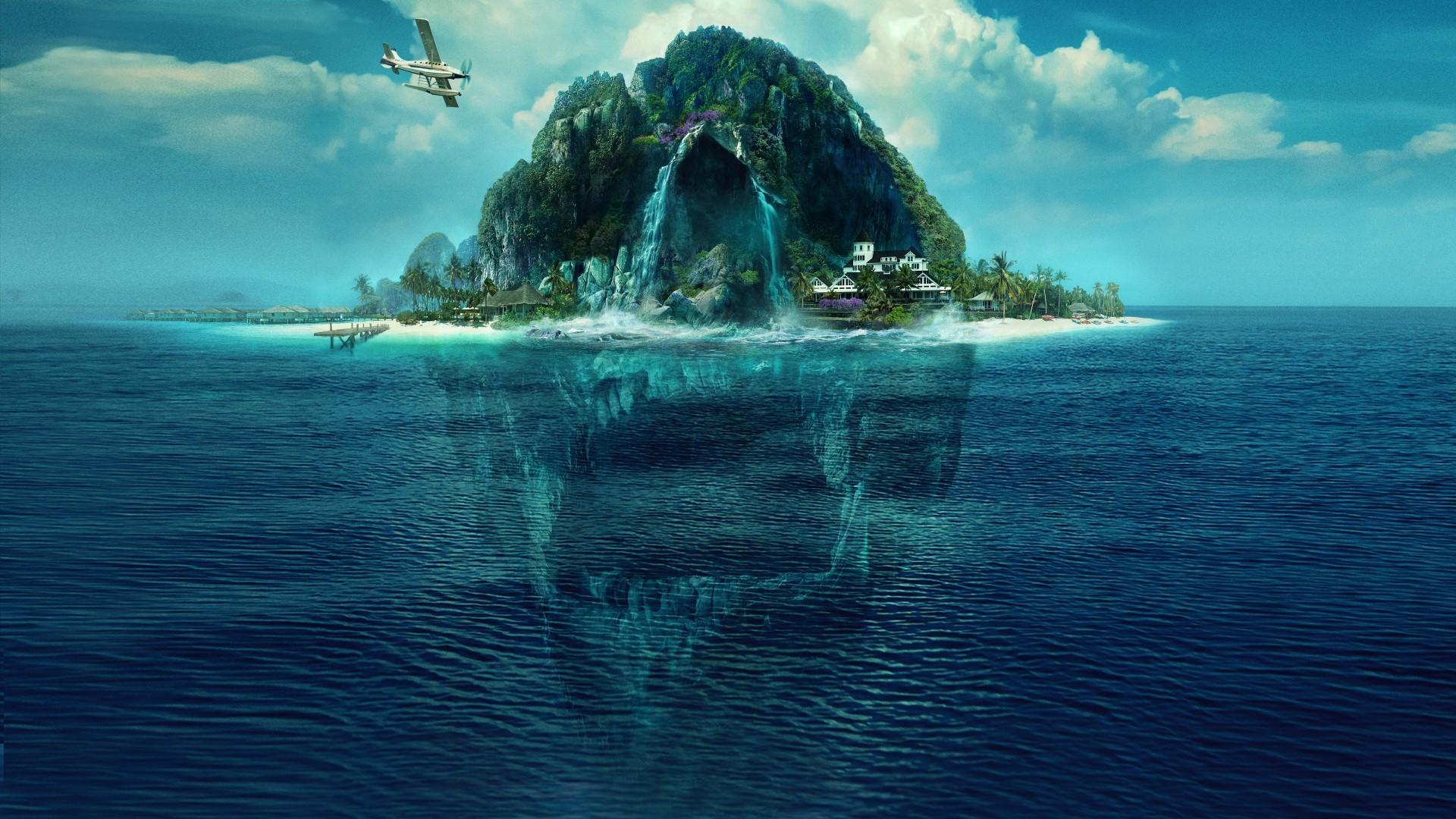 Download 1920x1080 Fantasy Island 2020 Fantastic Movies Ocean 1920x1080