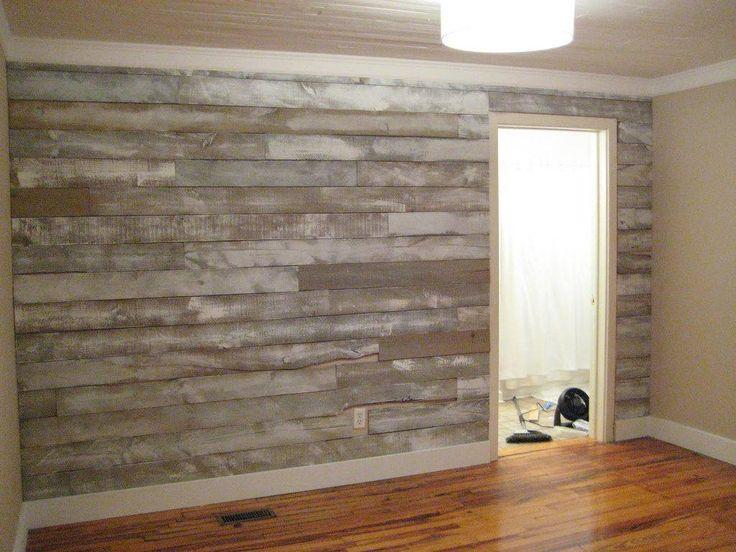Faux Reclaimed Wood Wall Panels Nursery Pinterest Wood Walls 736x552