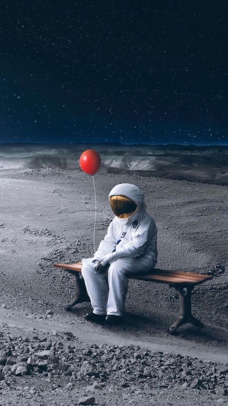 iPhone Wallpaper   my whole life the outsider the astronaut 736x1308