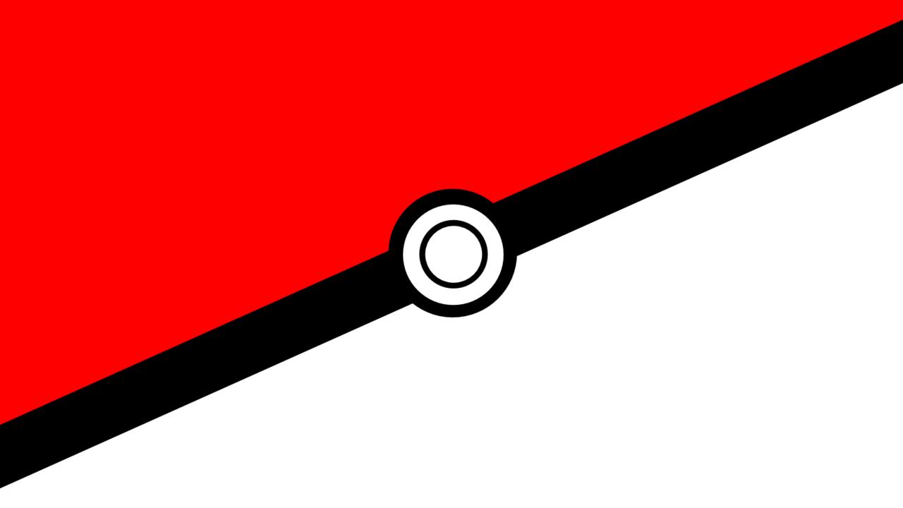 pokemon wallpaper pokeball by kennedyzak customization wallpaper 1280x720