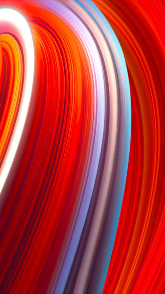 Wallpaper Xiaomi Mi Mix 3 abstract colorful OS 20775 640x1138