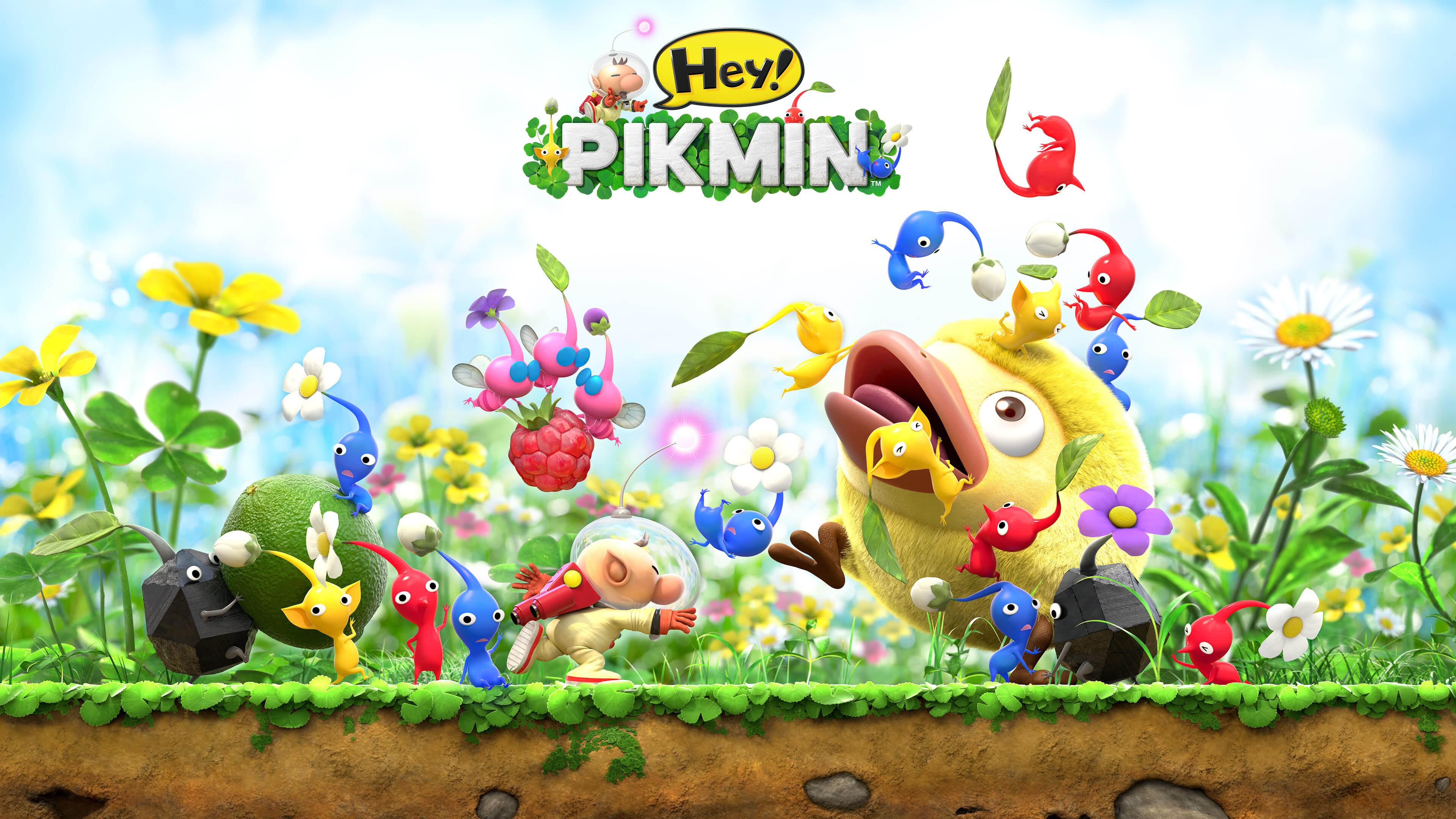 Hey Pikmin Characters UHD 4K Wallpaper Pixelz 3840x2160