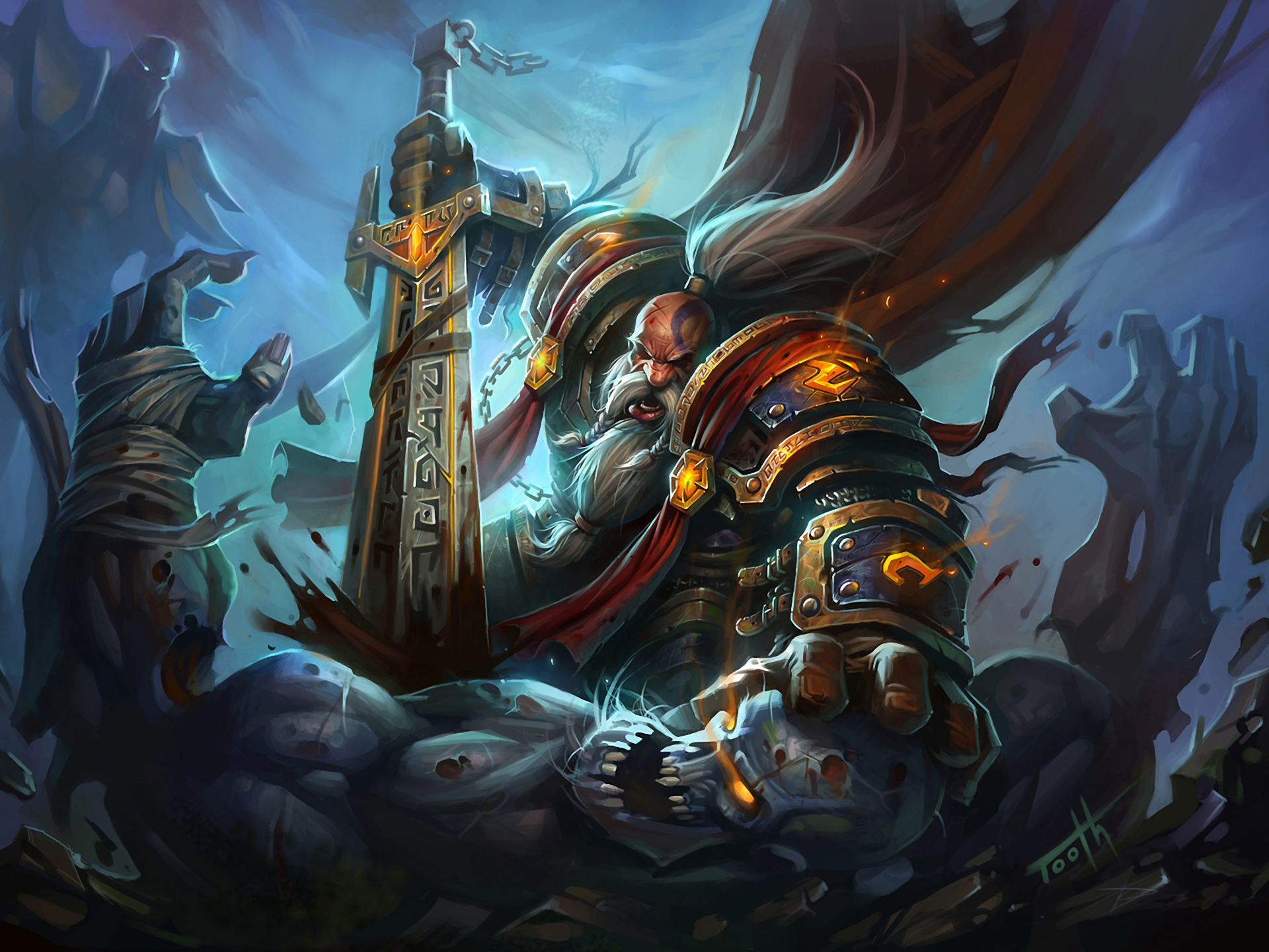 49 Wow Dwarf Wallpaper On Wallpapersafari