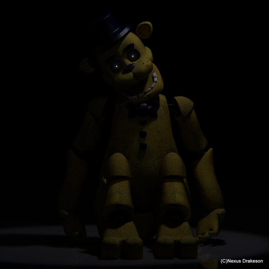 Golden Freddy by NexusDrakeson 894x894