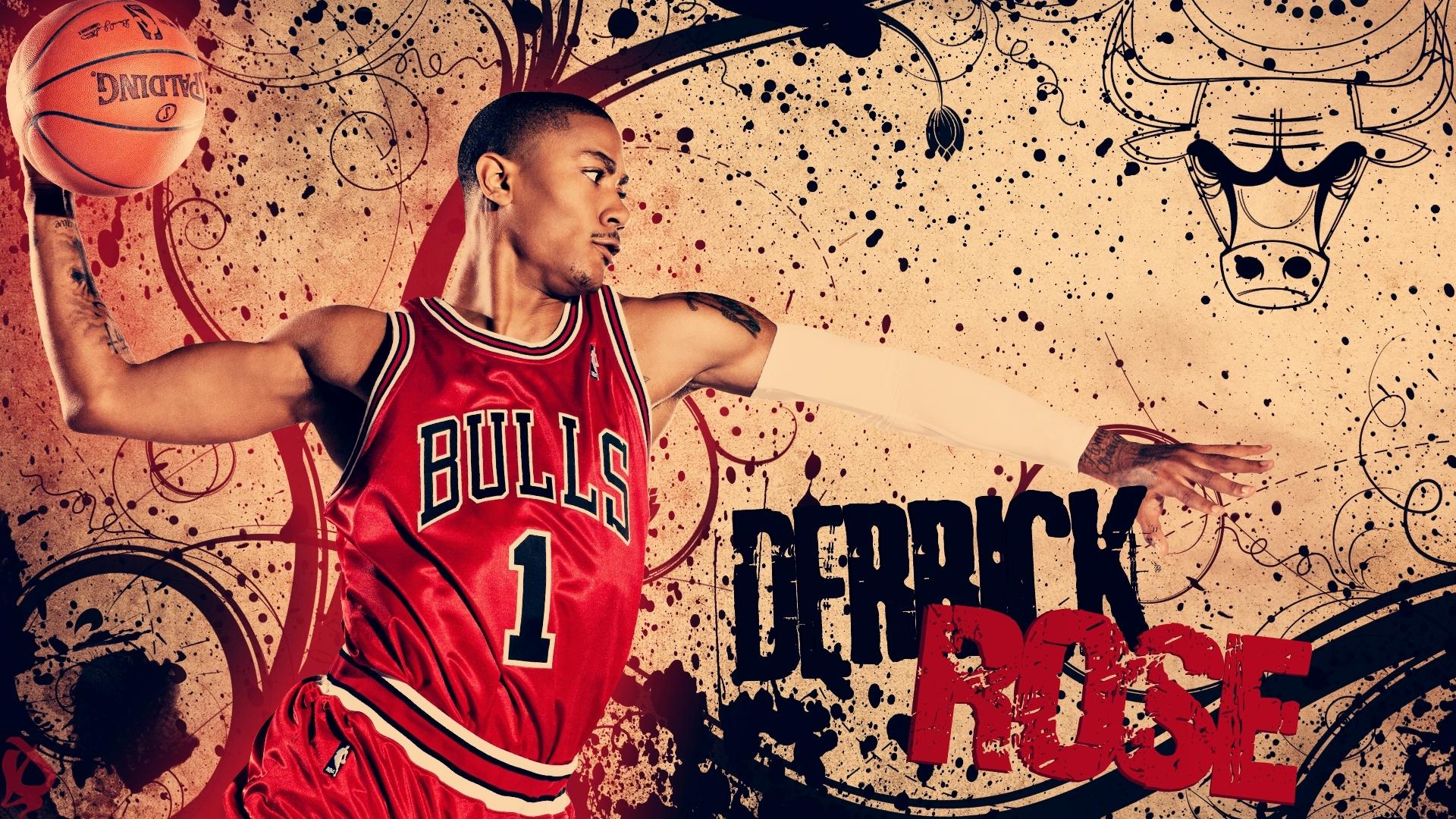 Derrick Rose Bulls Basketball Wallpaper HD 28 Wallpaper with 1920x1080 1920x1080