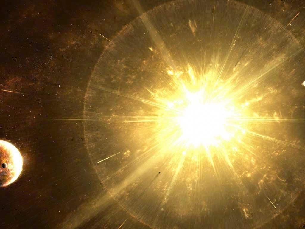 space stars explosions planets last supernova 1024x768
