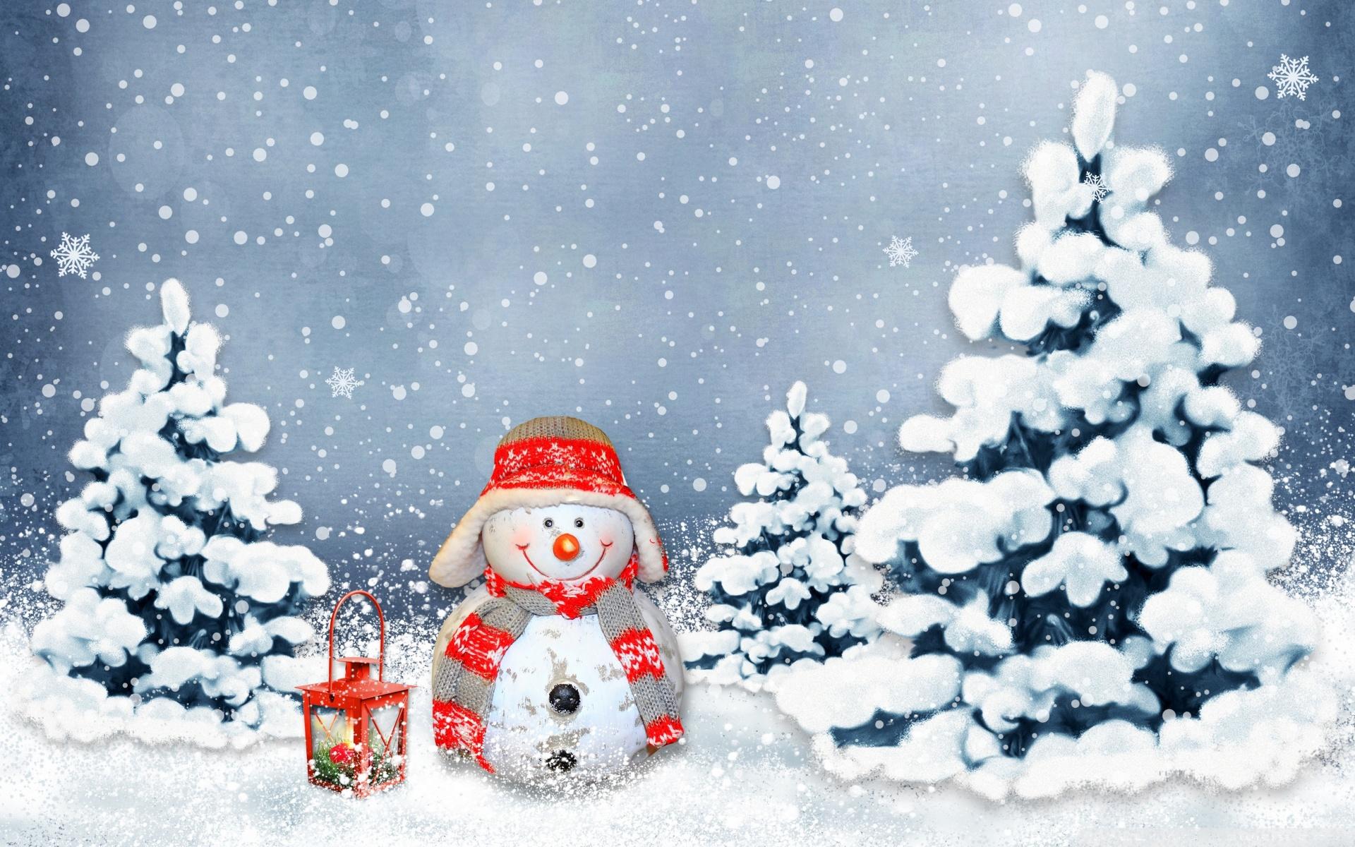 Funny Snowman 4K HD Desktop Wallpaper for 4K Ultra HD TV Wide 1920x1200