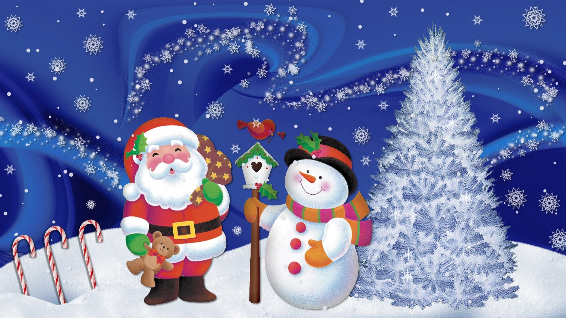 Christmas Wallpapers Animated Hd Wallpapers Download 1920x1080