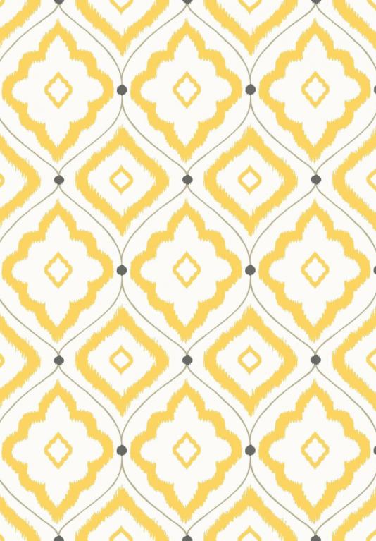 Bungalow Wallpaper A large trellis design wallpaper with rough diamond 534x767