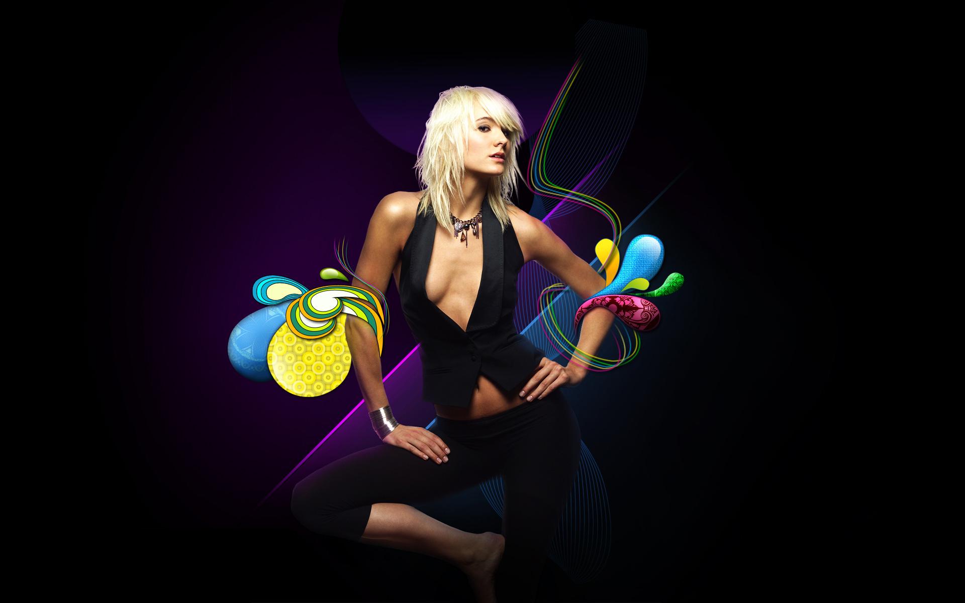 Swirl Girl in Photoshop Photoshop Tutorials Designstacks 1920x1200