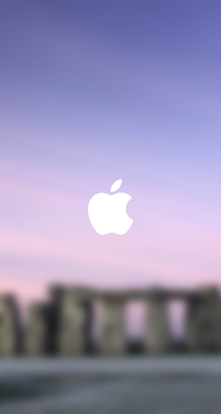 iPhone 5 Wallpaper Blurry blurred lock screen 744x1392