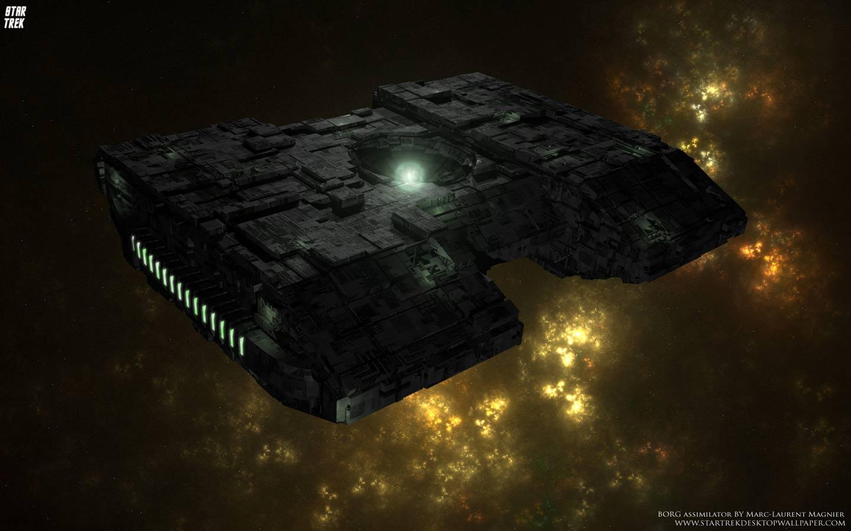 Star Trek Borg Assimilator Wallpaper and Background Image 1440x900
