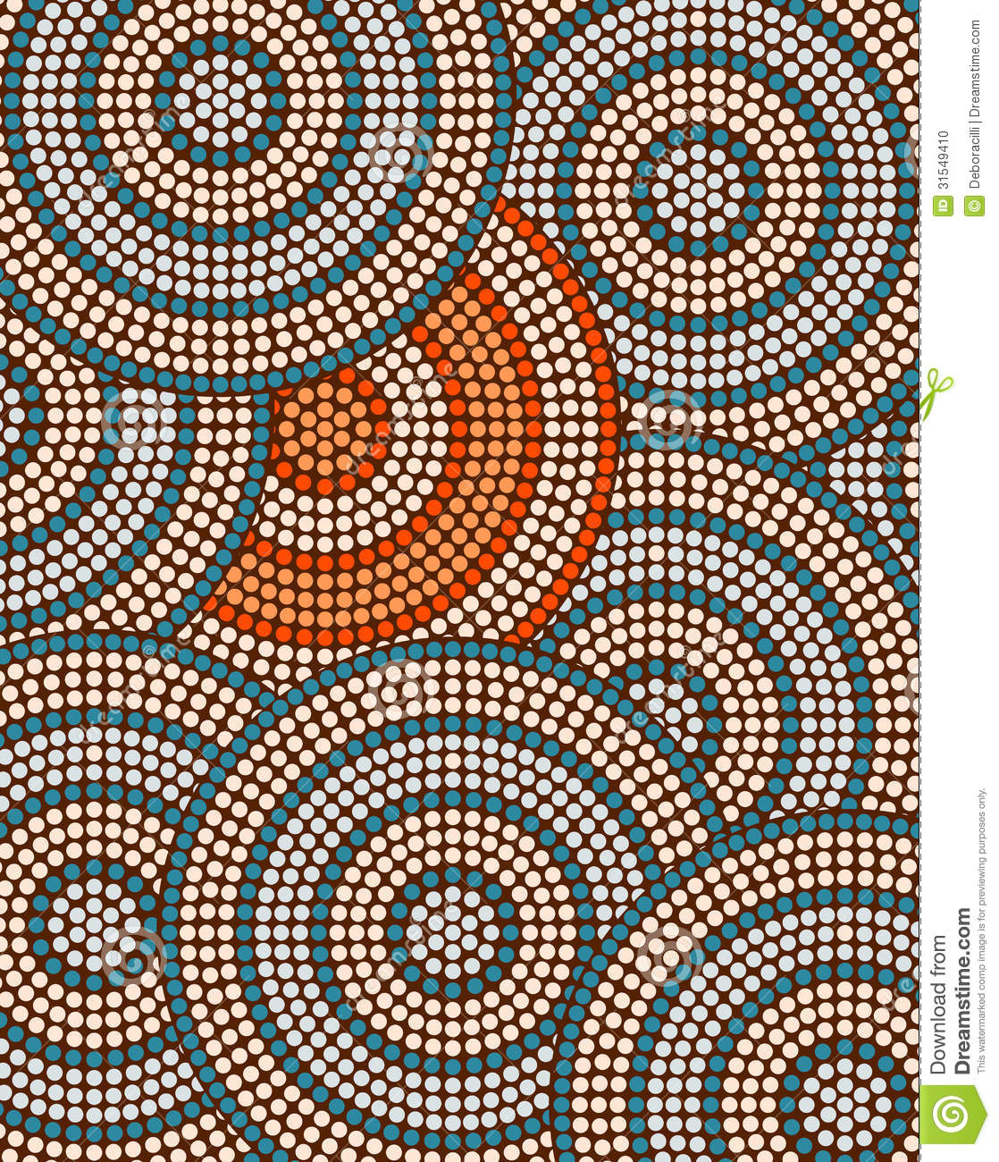 Pin Wallpaper aboriginal dot art design the traditional on 1118x1300