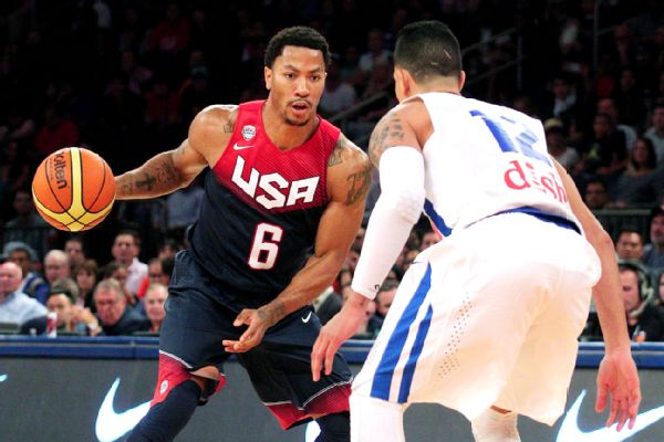 Brad PennerUSA TODAY Sports Derrick Rose was back on the court Friday 600x400