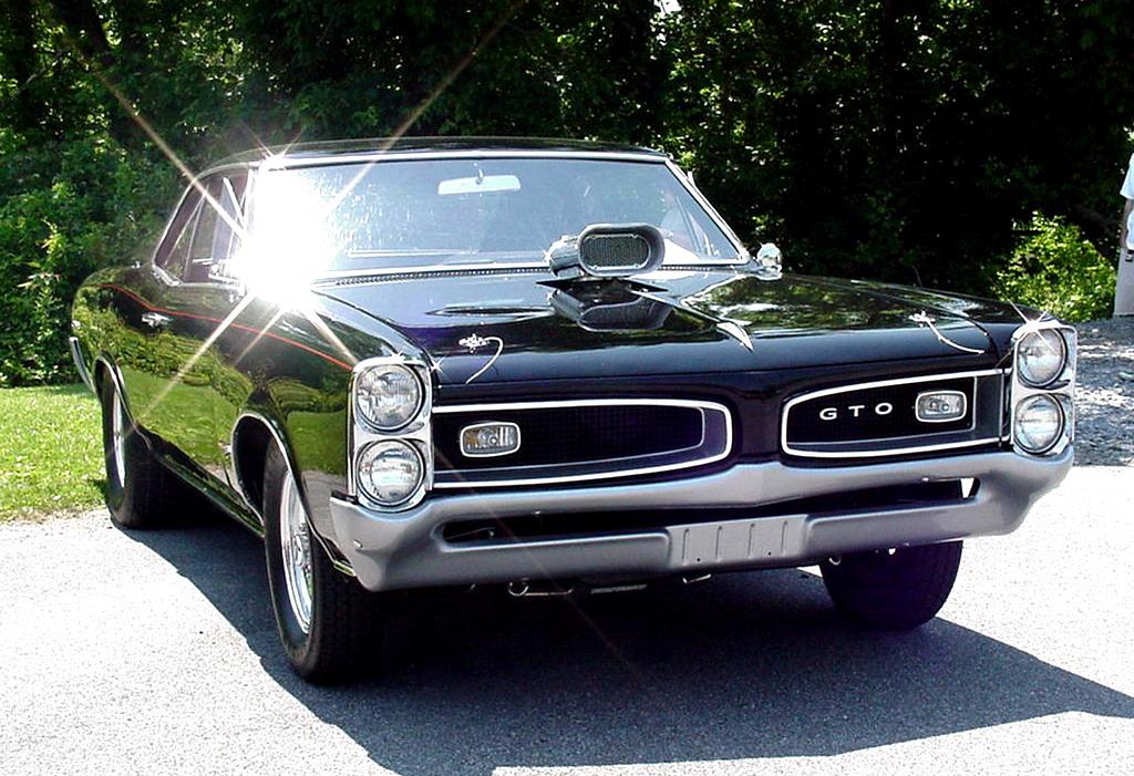 Black 1966 Pontiac GTO Wallpaperjpg 1024x701